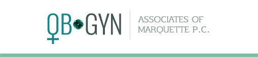 OBGYN Associates of Marquette logo that links back to the home page